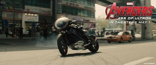Harley-Davidson Avengers Age of Ultron