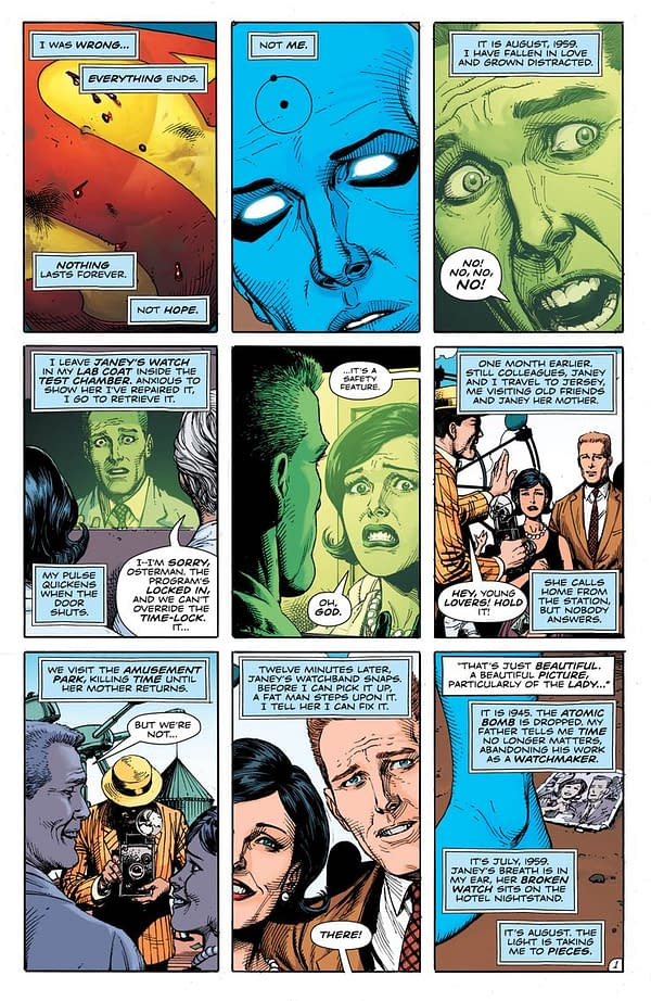 The First Six Pages Of Doomsday Clock #12 (Spoilers)