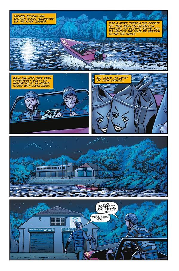 Rivers of London: Water Weed #1 art by Lee Sullivan, Luis Guerrero, and Memo Regalado