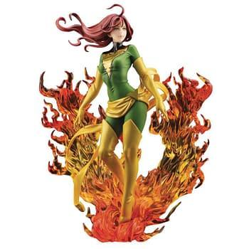 X-Men Jean Grey Dark Phoenix Rebirth Bishoujo Statue from Kotobukiya
