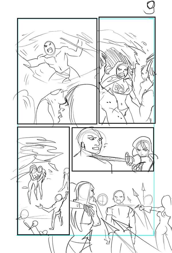 Red Sonja_Jungle Girl_Process_Art_2-4