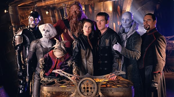 Hey 'Farscape' Fans- Full Series Hits Amazon Streaming Tomorrow!
