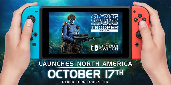 Here's Five Minutes Of Rogue Trooper Redux Gameplay