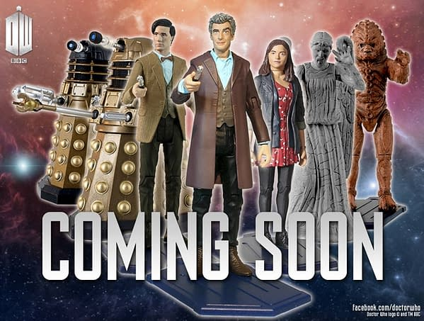 doctor who peter capaldi action figures