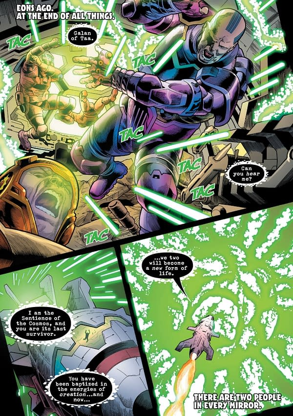 It's Immortal Hulk Vs The History Of The Marvel Universe For The Ninth Reality(Spoilers)