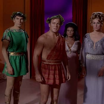 Wanna Buy Captain Kirks Toga from Star Trek: The Original Series at Auction