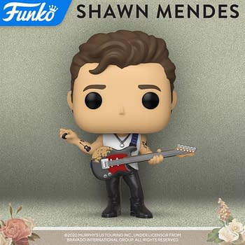 Funko Announces Their Newest Pop Music Figure: Shawn Mendes