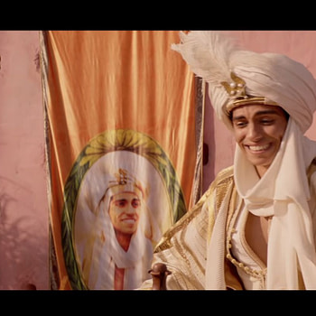 """""""Prince Ali"""" Clip From Disney's Live-Action 'Aladdin' Is...Colorful?"""
