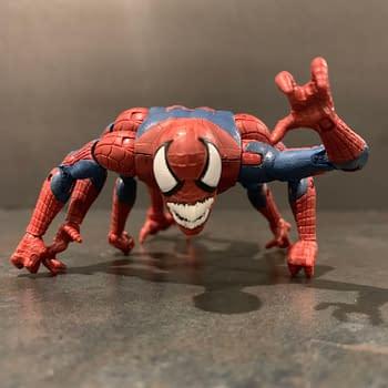 Marvel Legends Spider-Man Molten Man BAF Wave is Worth Tracking Down