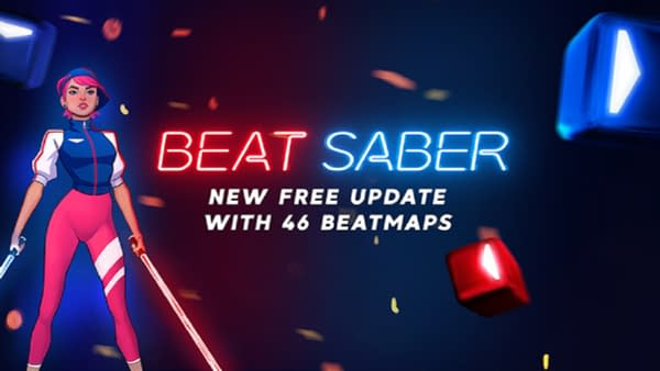 The new free update for Beat Saber comes with 46 Beatmaps, courtesy of Oculus.