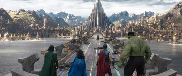 29 HQ Images From Thor: Ragnarok Tease A Beautiful And Colorful World