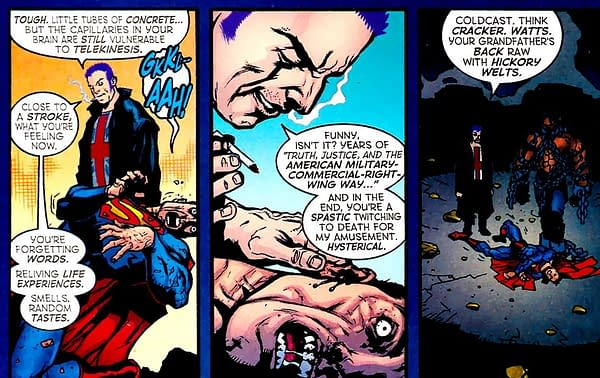 More Gossip on Superman Joining The Authority.