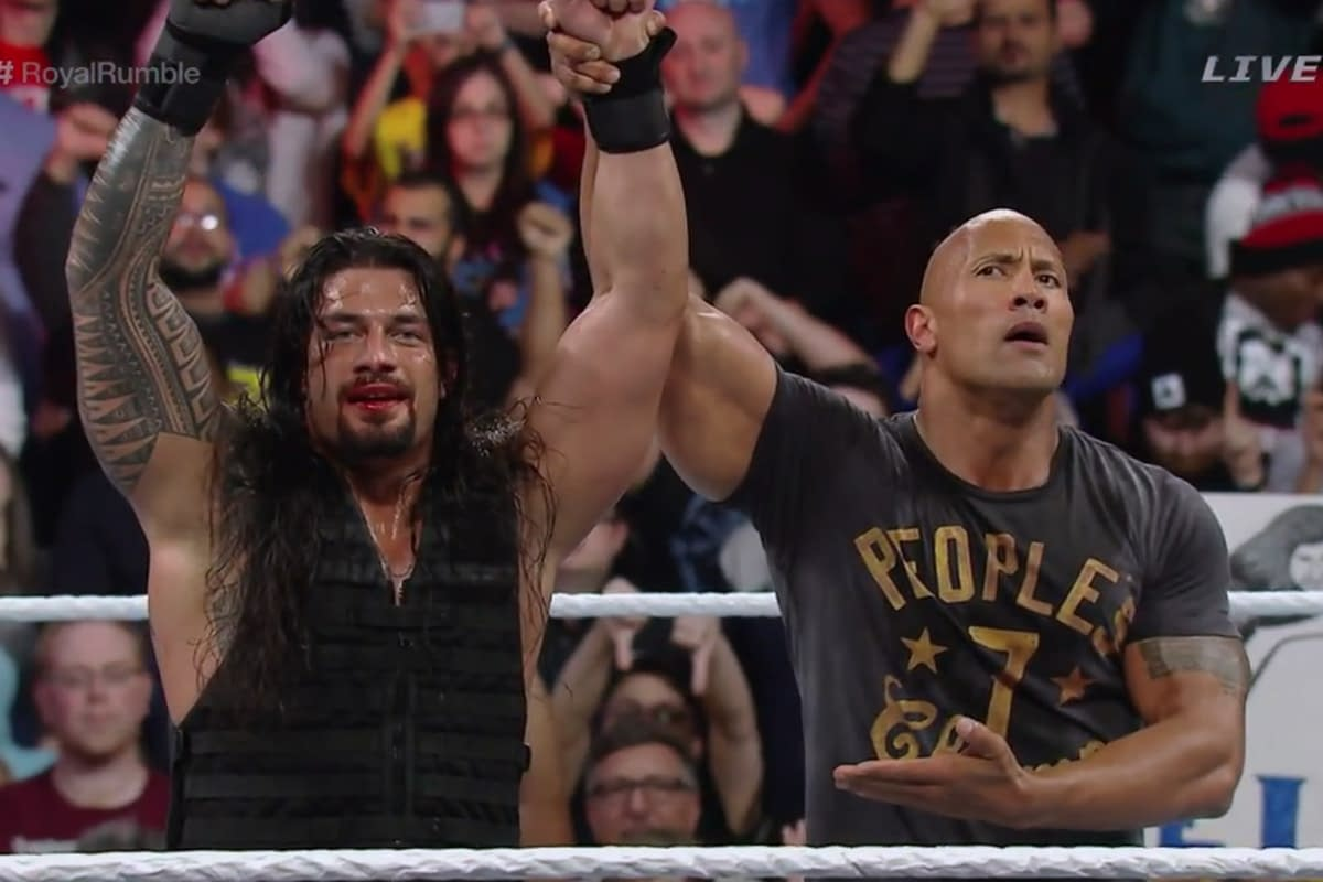 Royal Rumble 2015 Roman Reigns
