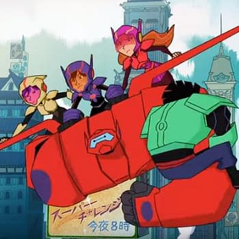Big Hero 6: The Series Gets Super Sneak Preview From Disney XD