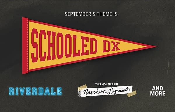 Loot Crate Add Riverdale and zavir Men to September Back-To-School Crates - But Will You Take The Chance?