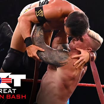 Dexter Lumis vs. Roderick Strong – Strap Match: NXT Great American Bash, July 1, 2020