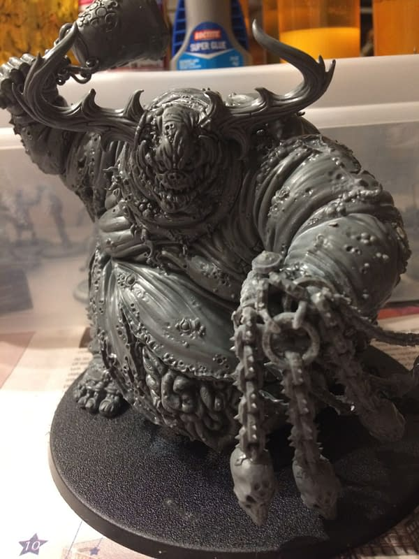 """Review: Games Workshop's """"Great Unclean One"""" - """"Age of Sigmar"""""""