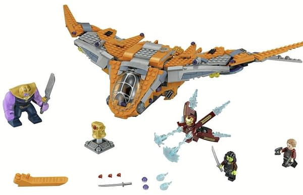 Avengers: Infinity War LEGO Sets Officially Revealed Ahead of Toy Fair