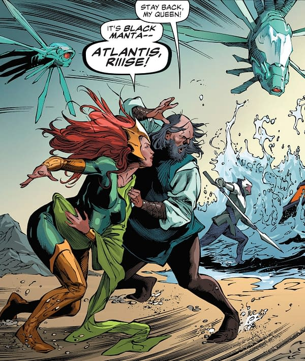 February Will See the Birth of Aquaman and Mera's Baby