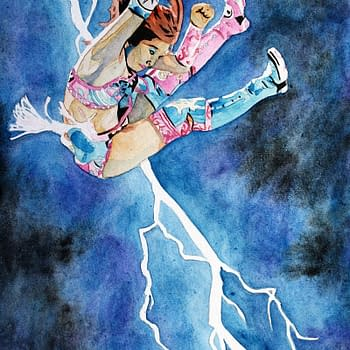 Kairi Sane is The Dark Knight in This Frank Miller Tribute by Rob Schamberger