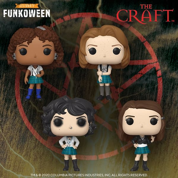 Funko Funkoween Continues With the Cult Classic The Craft!