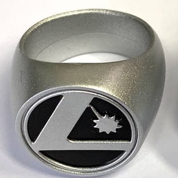 """Platinum"" Legion Rings Free With Every 100 Copies of Legion Of Super-Heroes #1"