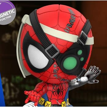 Spider-Man Is Ready for a Costume Change with New Cosbaby Hot Toys