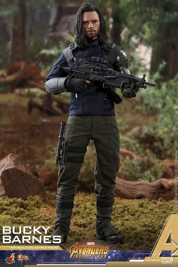 Bucky Barnes Infinity War Hot Toys 7