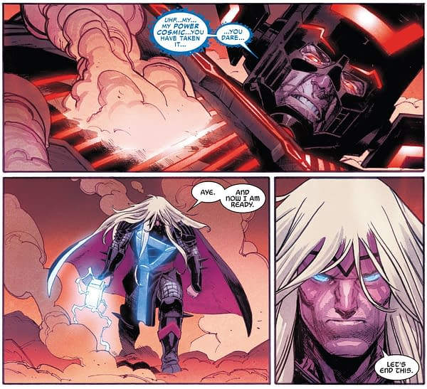 What Happened Between These Panels Of Thor #4?
