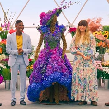 One of the amazing displays from The Big Flower Fight, courtesy of Netflix.