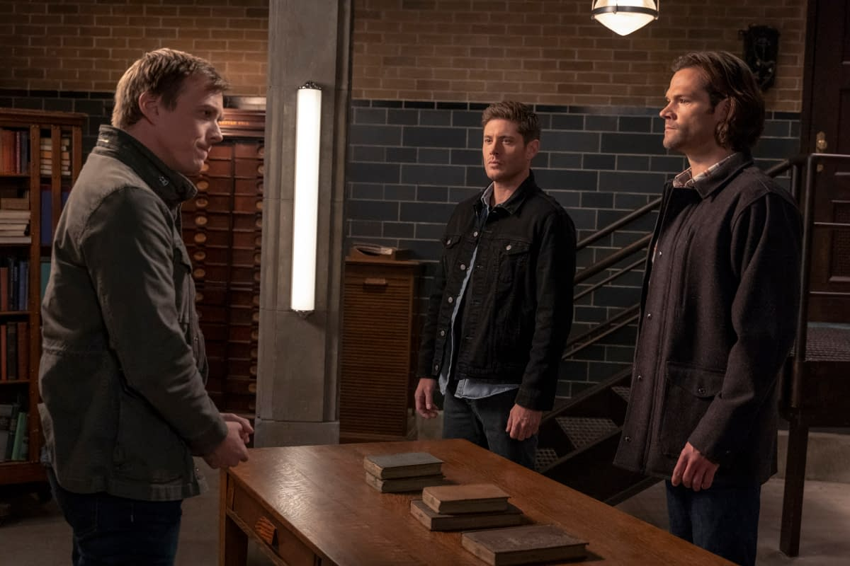 """""""Supernatural"""" Season 15 """"Our Father, Who Aren't in Heaven"""": [PREVIEW]"""