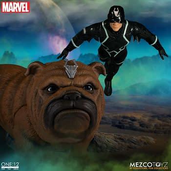 Black Bolt &#038 Lockjaw Return From Attilan With A New Mezco Figure
