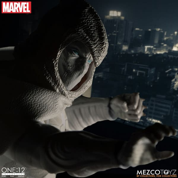 Moon Knight Joins the Mezco One:12 Collective Figure Line