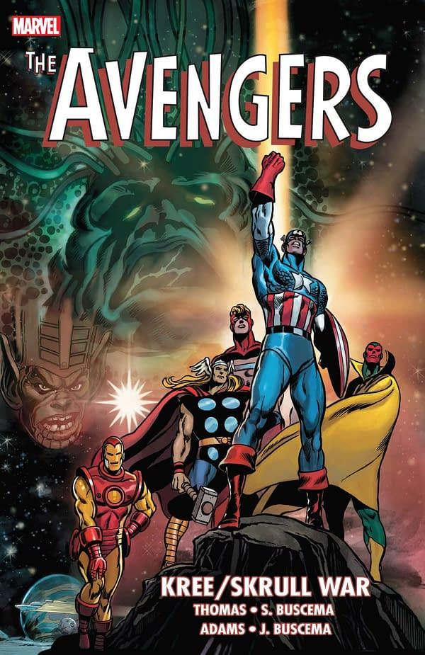 Avengers Kree/Skrull War TPB Cover