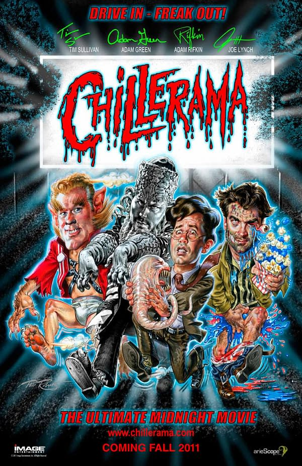 Chillerama And The Knights Of Badassdom – A Joe Lynch Pawprints Special