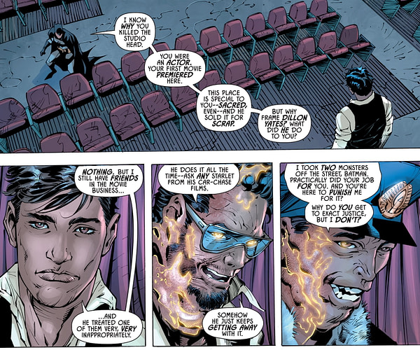 Batman se bat #MeToo dans Gotham Knights # 2.