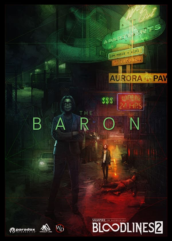 """""""Bloodlines 2 Faction Reveal: The Baron"""