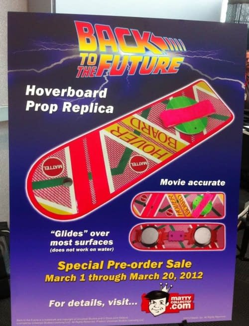 """Mattel Will Be Releasing Back To The Future Hoverboards – But They Don't Hover, They """"Glide"""""""