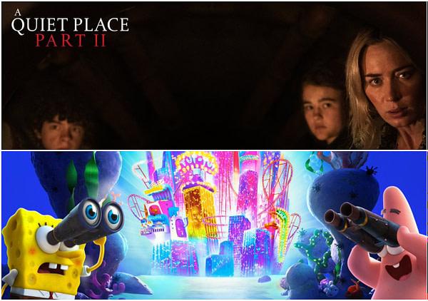 Paramount publie deux nouveaux arrière-plans Zoom comprenant A Quiet Place Part 2 et Spongebob.