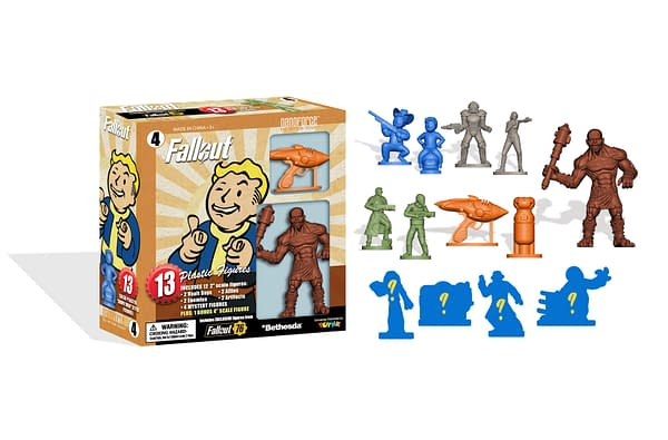 Fallout Nanofigures Box 4