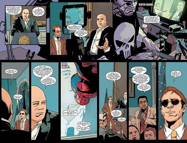 Daredevil #597 art by Stefano Landini and Matt Milla