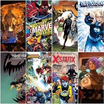Frankensteining 23-And-A-Bit Marvel Comics July 2019 Solicitations