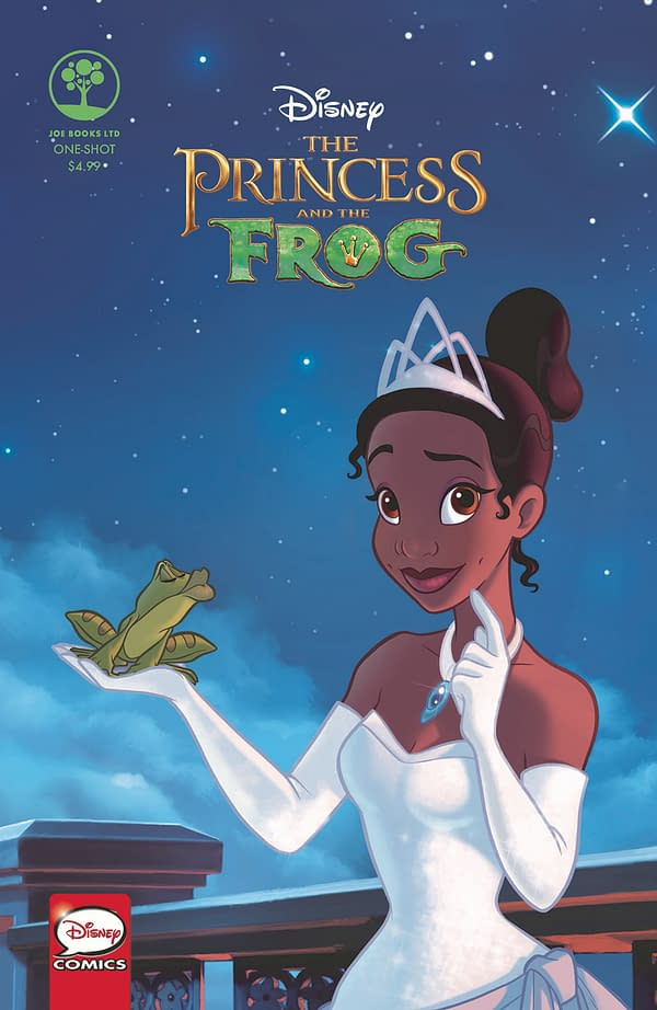 FCBD Ariel Spotlight Rerelease and Princess and the Frog One-Shot: Joe Books March 2018 Solicits