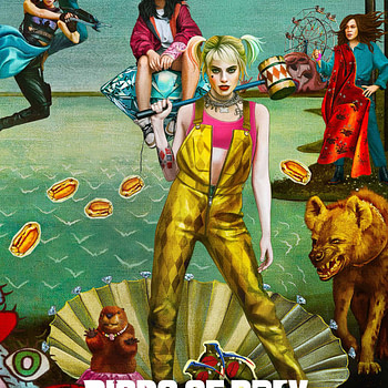 "New Poster for ""Birds of Prey: And the Fantabulous Emancipation of One Harley Quinn"""