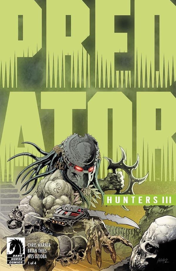 Predator Returns to the Jungle for Predator: Hunters III at Dark Horse in February