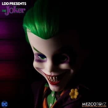 Joker Is Giving Us Chucky Vibes in New Living Dead Doll from Mezco