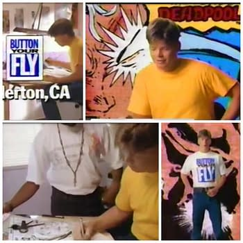 28 Years Later, Rob Liefeld Remembers Being Directed by Spike Lee for Levi's TV Commercial, Button That Fly