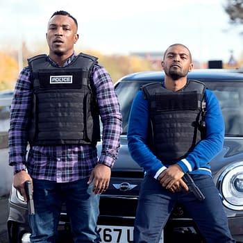 """Bulletproof"" is an Odd Beast, A British Cop Show Made by Fans of American Cop Shows"