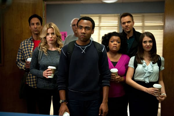 Our study group is not happy on Community, courtesy of NBCUniversal.