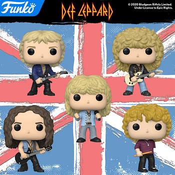 Def Leppard Makes Their Funko Pop Debut and They Aint Foolin